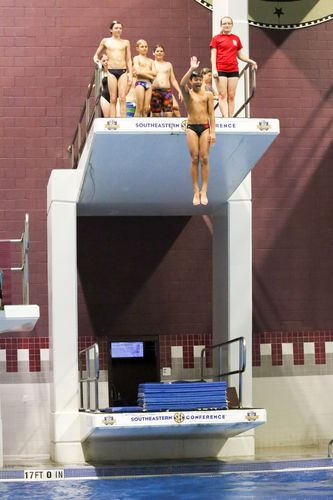 Diving at the Rec
