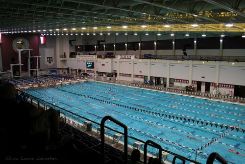 Long Course practice at A&M