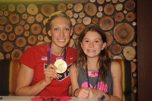 Olympian Breeja Larson